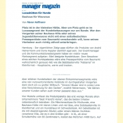 Manager Magazin – Jan 2010
