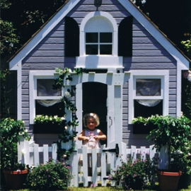 Grey Dutch Playhouse