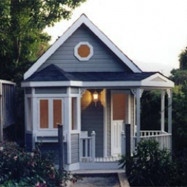Blue Victorian Playhouse
