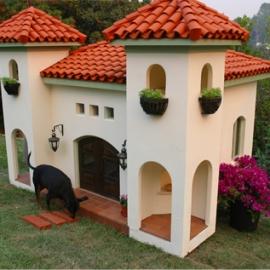 Mediterranean Doghouse